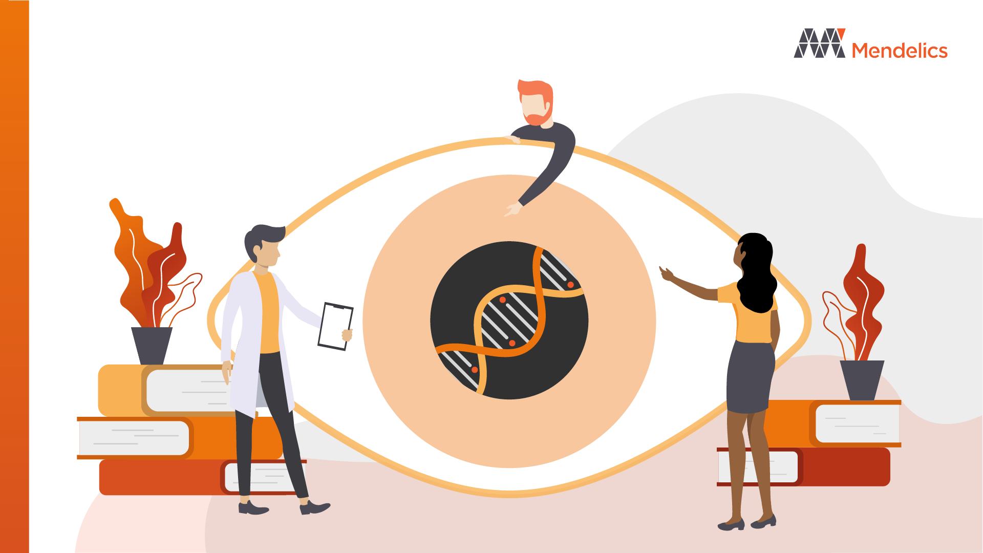 doença genetica ocular