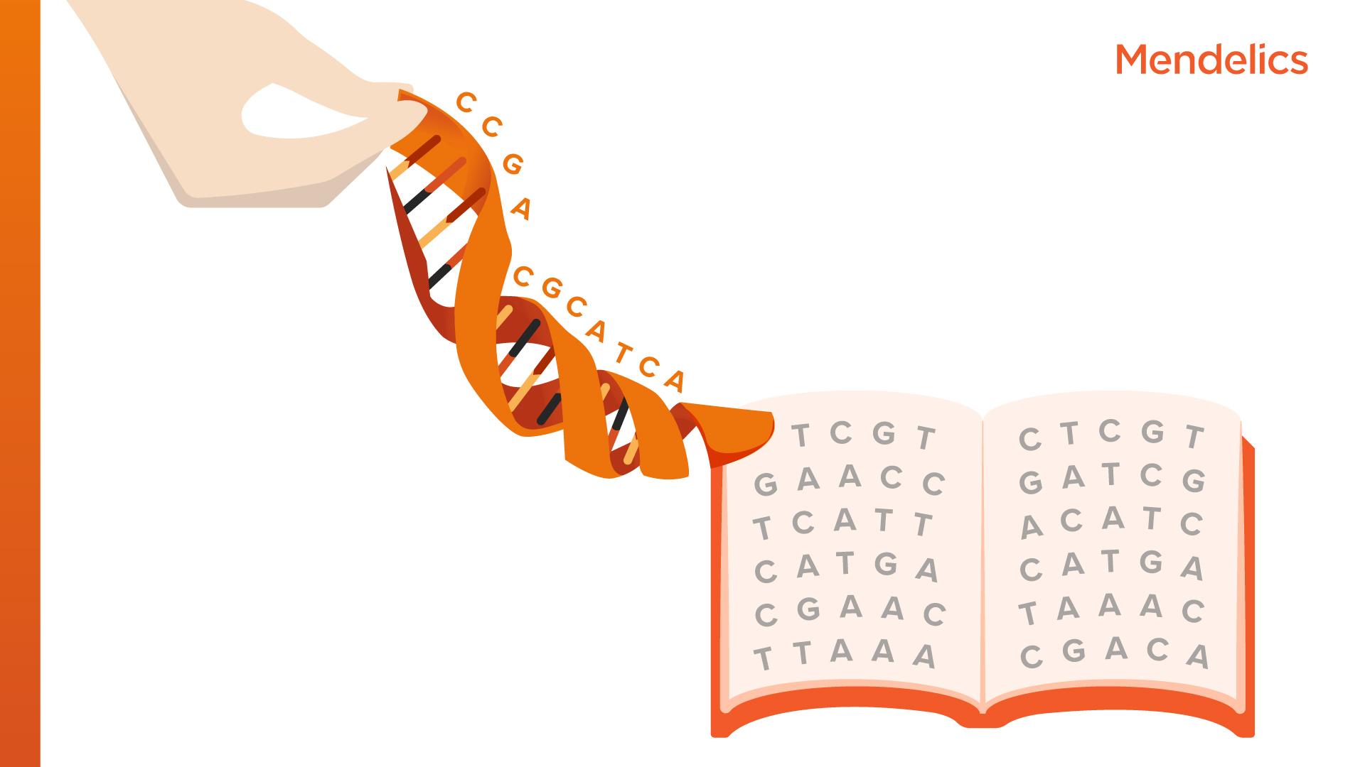 genética à mão genoma e exoma